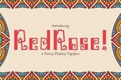 Web Font Redrose Product Image 1