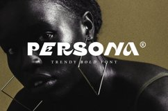Persona - Trendy Bold Font Product Image 1