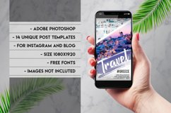 Social Media instagram travel template Product Image 2
