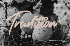 Tradition - Handwritten Script Font Product Image 1