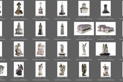 55 Tombstone Photo Overlays Product Image 2