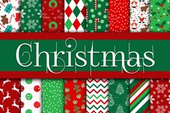 Christmas Bundle - Includes Over 200 Digital Papers Product Image 4