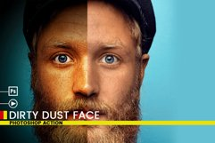 Dirty Dust Face Photoshop Actions Product Image 2