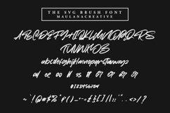 Moriss Ward SVG Brush Font Product Image 4