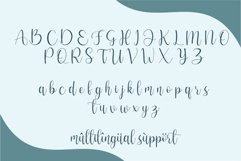 Hello adeline | a pretty script Product Image 3