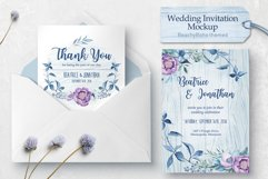 Wedding invitation - BeachyBoho Product Image 2