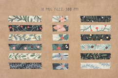 Digital Christmas Washi Tapes - Washi Tape Clipart Product Image 2