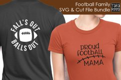 Football Family - Football SVG and Cut Files for Crafters Product Image 2