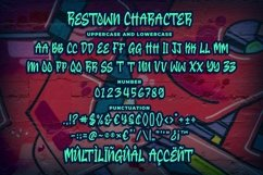 Restown - Urban Style Font Product Image 6