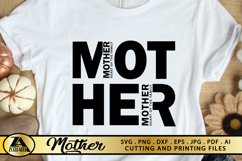 Mother SVG Mothers Day SVG Mom Life SVG Mommy Quotes SVG Product Image 5