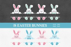 Easter Bunny Face svg png eps Product Image 1