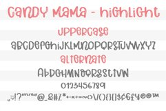Candy Mama- A handritten font Product Image 3