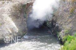Yellowstone National Park Mud Bog Geyser Stock Photo Product Image 1