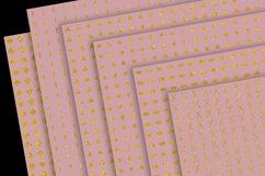 Gold Patterns on Blush Product Image 3