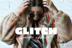 VHS Glitch Effect for Photoshop Product Image 1