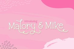 Malory & Mike Font Duo Product Image 1