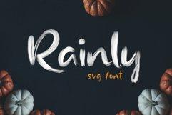 Rainly - Brush & SVG Font Product Image 2
