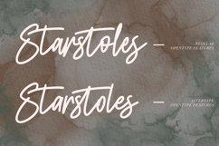 Starstoles Signature Script Typeface Product Image 2