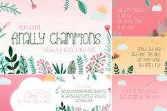 The Floral Craft Font Bundle Product Image 3