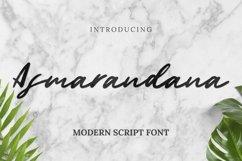 Web Font Asmarandana Font Product Image 1
