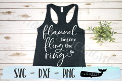 Flannel Fling Before the Ring Bachelorette SVG Cut File Product Image 1