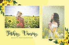 Yushina - Swirly Cute Script Product Image 3