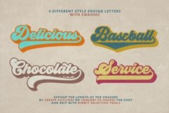 Groovy - Retro Font Product Image 6