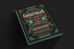 Christmas Party Celebration Flyer Product Image 2