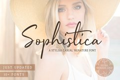 Sophistica - 10+ Fonts & Extras Product Image 1