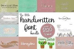 The Little Handwritten Font Bundle Product Image 1