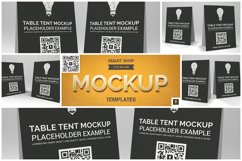Table Tent Mockup Product Image 1