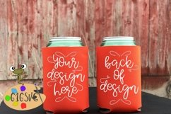 Tangerine Can Cooler Mockup Product Image 2