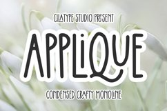 Applique Product Image 1