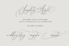Simplicity Angela - Calligraphy Font Product Image 12