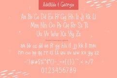Adelaide & Georgie - Friendly Handwritten Typeface Product Image 4