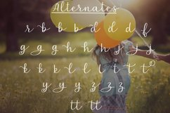 Carefree - A handlettered script font Product Image 3
