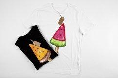 Ice cream. Watercolor set. Bonus Product Image 6
