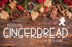 Gingerbread a Tasty Font Product Image 1