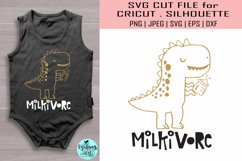 Milkivore svg, funny baby svg Product Image 1