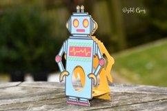Robot Easter egg holder design SVG / DXF / EPS files. Product Image 4