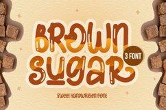 Brown Sugar Handwritten Font Product Image 1