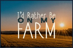 Countryside Living | A Farmhouse Font Duo with FREEBIES Product Image 3