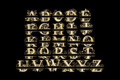 Split Letters A-Z SVG Vectors Svg Dxf Png Jpg Eps Product Image 4