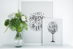 Latin inspirational phrases. SVG Cut Files. Vector clipart. Product Image 3