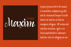 Maxim Script Product Image 1