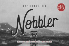 Nobbler Typeface Product Image 1