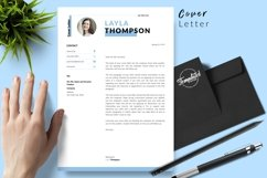 Simple Resume CV Template for Word & Pages Layla Thompson Product Image 5