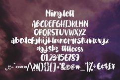 Minglett - Rough Brushable Font Product Image 5