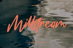 Millstream Handwritten Script Font Product Image 1