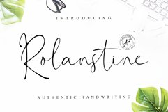 Rolanstine Authentic Signature Product Image 1